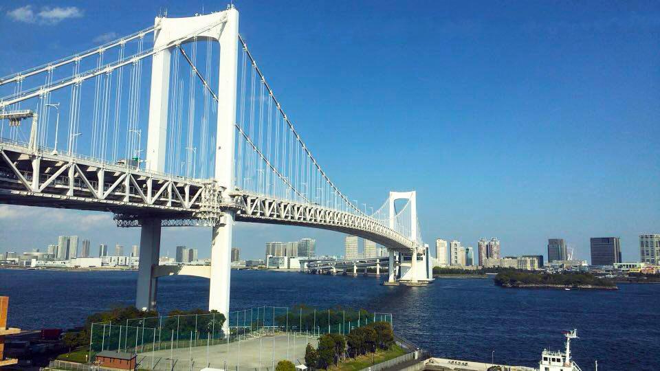 東京建物散歩~レインボーブリッジ~