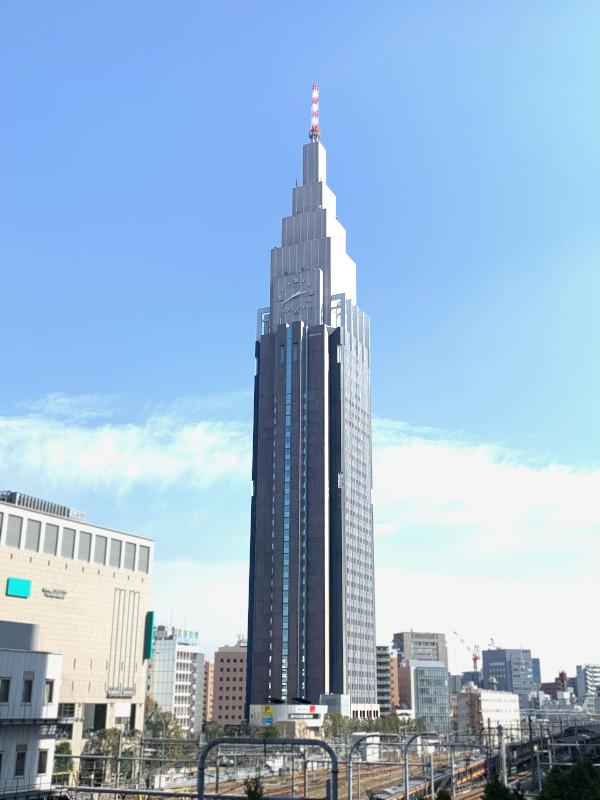 東京建物散歩~NTTドコモ代々木ビル~